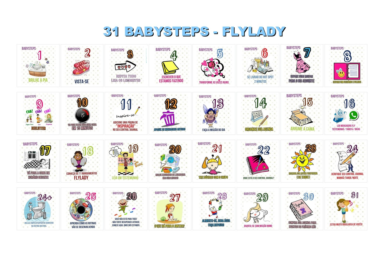 flylady 31 baby steps pdf