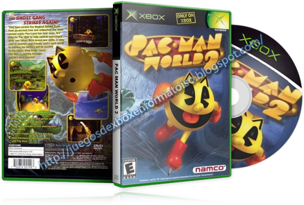 Cual fue el primer cartucho que aventuraste? Pac_Man_World_2+-++%255Bcover+xbox+3D+-+by+perfect7726%255D+%252B+Glass