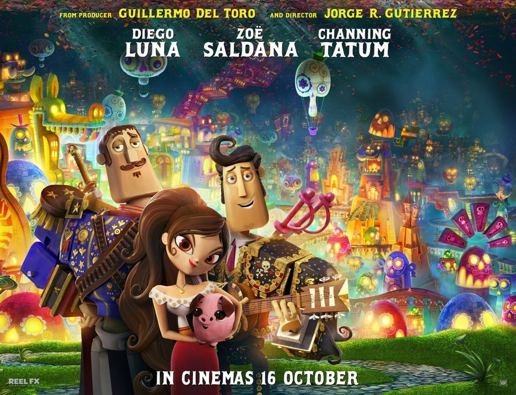The Book of Life 3D movie sypnosis review