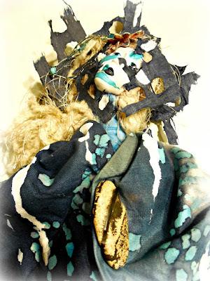 Fearless Spirit Art Doll by Jeanne Fry Art