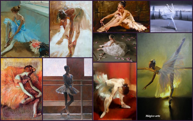 BALLET AND DANCE IN THE ART