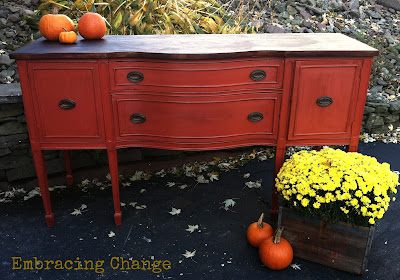 sideboard+full+shot Painting furniture makeovers {Newbie with a twist party started}