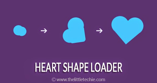 Heart shape loader