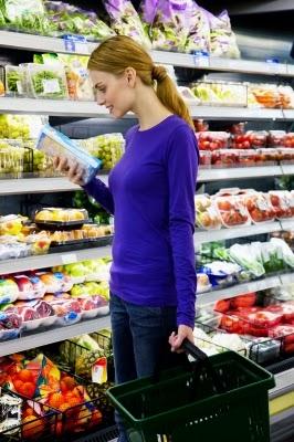 supermercado etiquetas productos sanos elegir