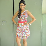 Manisha Yadav Photos in Floral Short Dress at Preminchali Movie Press Meet 60
