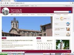 S'HA PRESENTAT LA WEB DE LA PARRÒQUIA DE CENTELLES