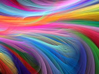 rengarenk ve çok renkli şatafatlı ve hareketli bir masaüstü arkaplanı