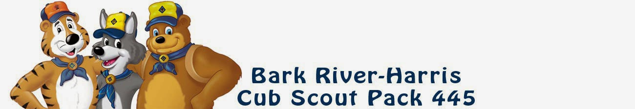 Bark River-Harris Cub Scout Pack 445