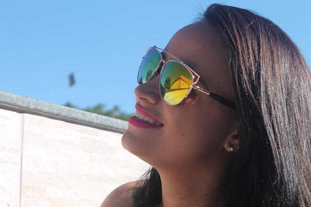 oculos de sol espelhado