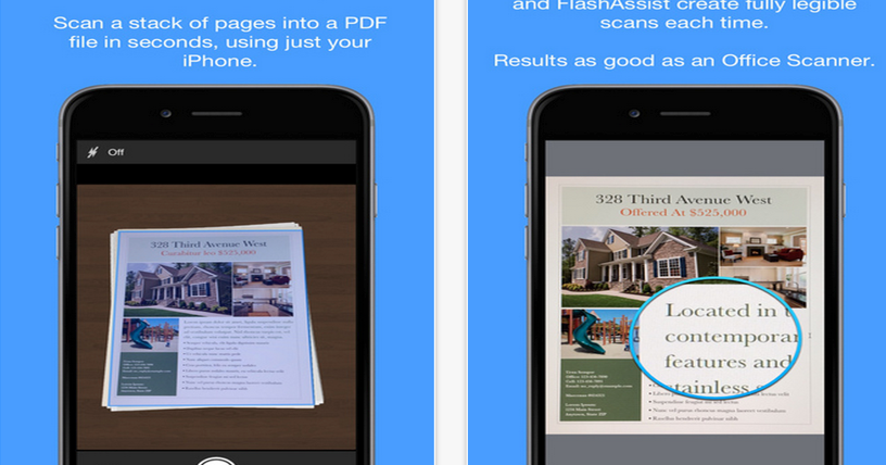 Smart PDF Scanner Is Free Today- Excellent App for Scanning Docs and Sending Them as PDFs
