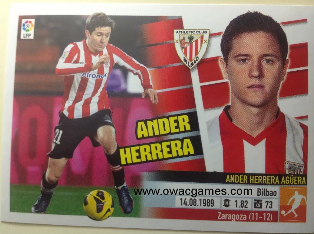 Liga ESTE 2013-14 Ath. Bilbao - 12 - Ander Herrera