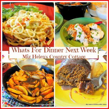 Whats For Dinner Next Week10-2-16 to 10-8-16