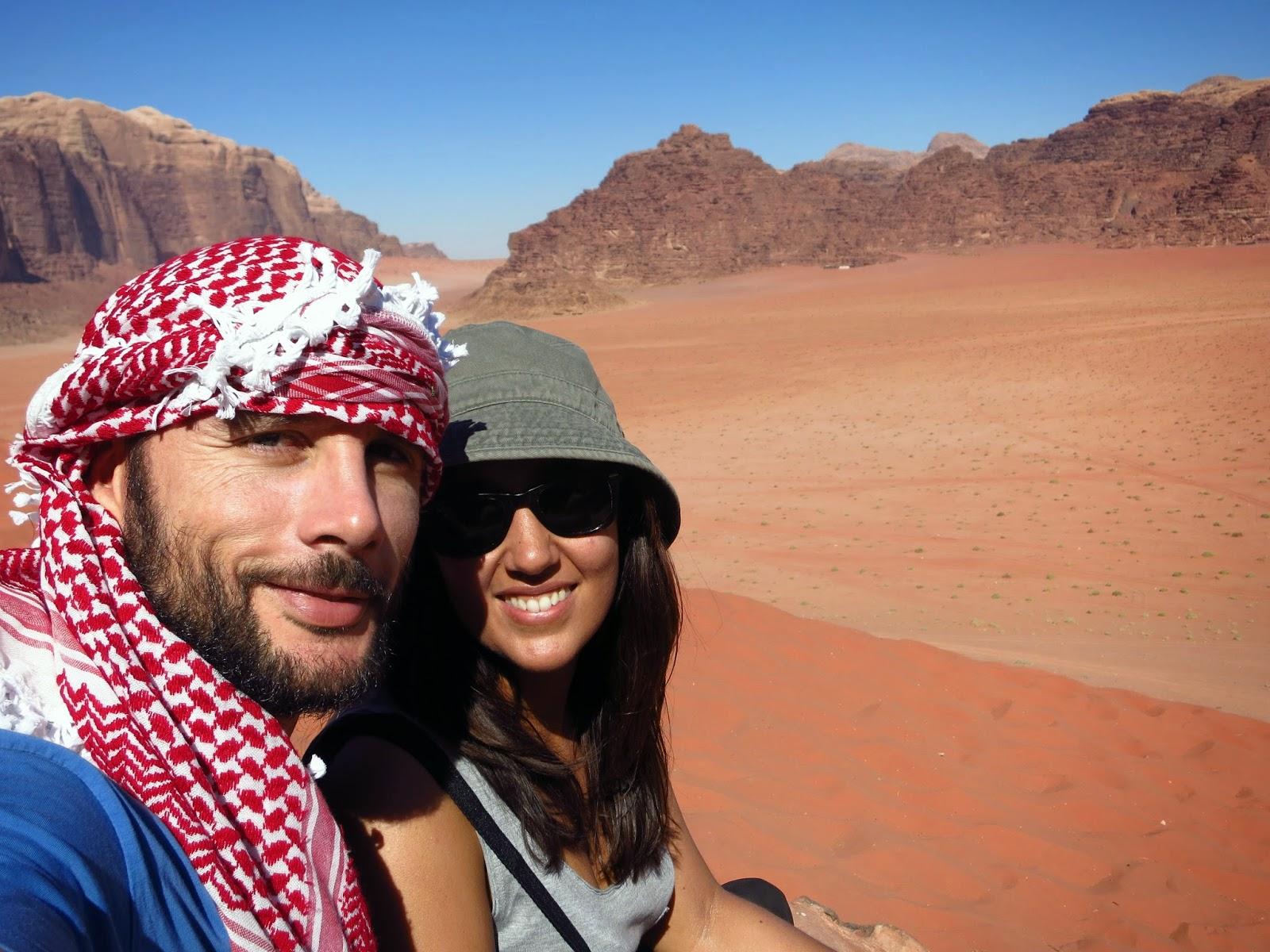 Wadi Rum, desde las dunas