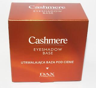 Dax Cashmere, utrwalająca baza pod cienie