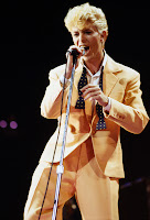 David Bowie, c. 1984 on the Serious Moonlight tour