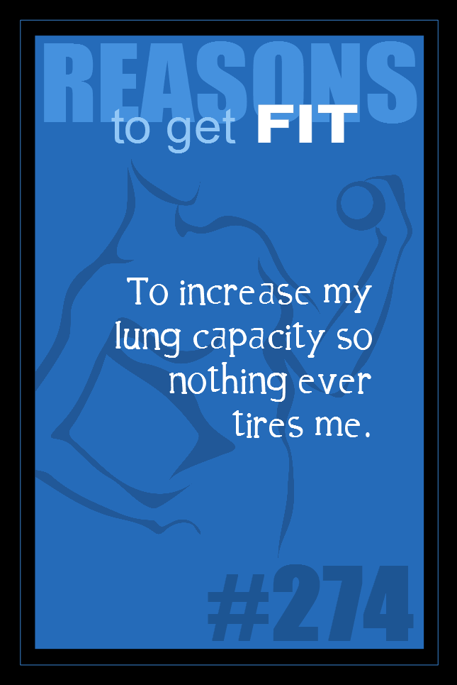 365 Reasons to Get Fit #274
