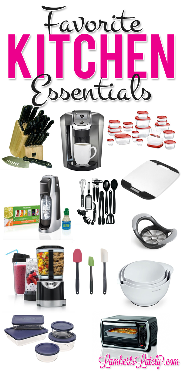Great list of kitchen items if you're planning a wedding registry!