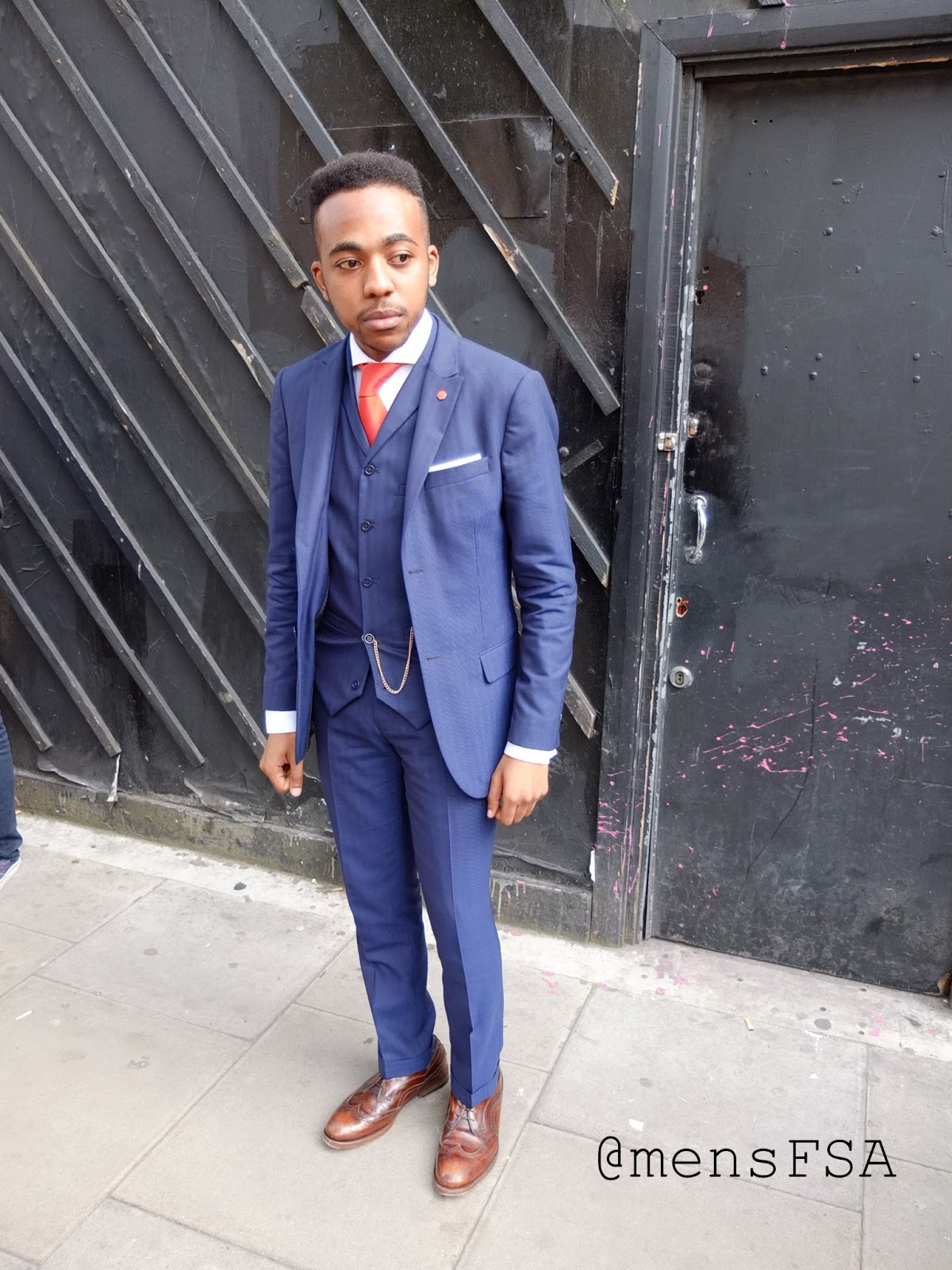 London Collections Men Streetstyle: Men in Suits ~ Fashion Brands
