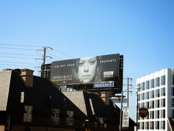 Orphan Black season 3 billboard