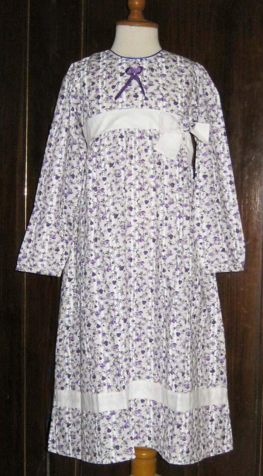 Galeri baju anak dress muslim sianny bunga pita Baju gamis anak aliza