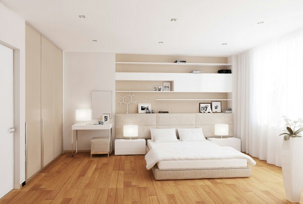 rumah rumah minimalis modern bedrooms interior designs