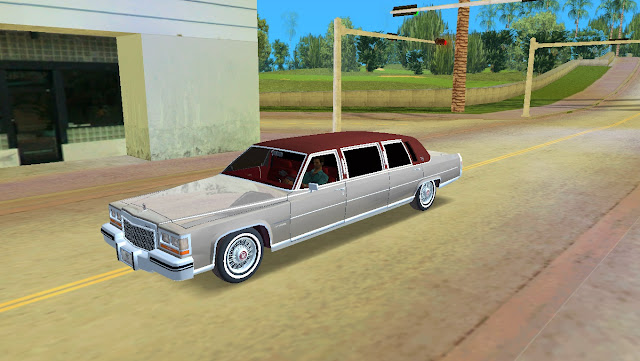 Cadillac Fleetwood Brougham Limousine 1985 GTA Vice City