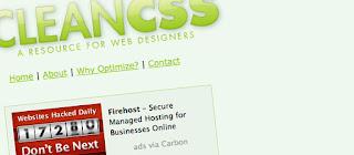 CleanCSS éditeur et optimisation CSS en ligne