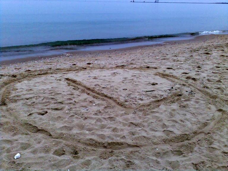 eLka na jednej z nadbałtyckich plaż