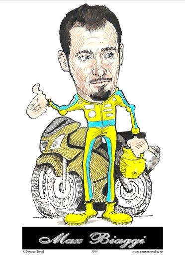 The cartoonstore biker max biaggi biker max biaggi altavistaventures Images