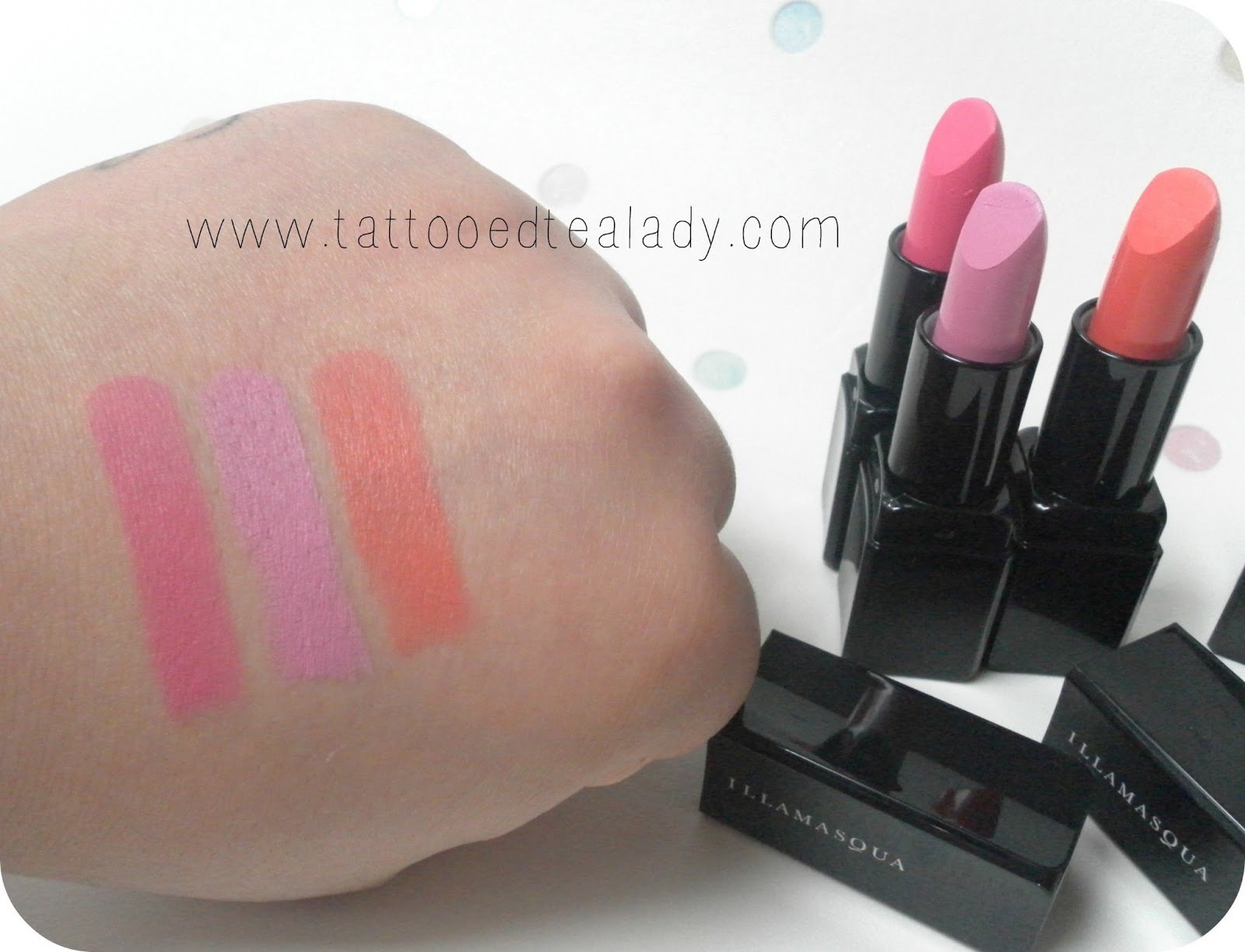 Illamasqua Lipstick glides on smoothly and doesn't give up without a fight for the perfect all-night pout. A must have for professional make-up artists, and those who want to make a statement. read more. See at Wal-Mart USA, LLC. LINKSHARE. Illamasqua Illamasqua Lipstick Wal-Mart USA, LLC $ $