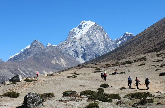 Dingboche-Lobuche-Himalaya