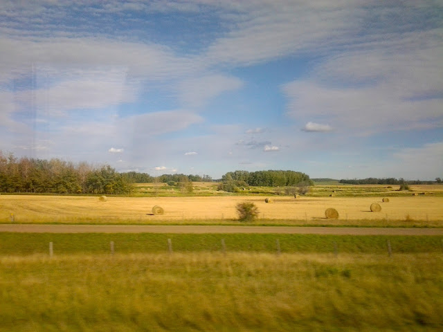 edmonton calgary scenery