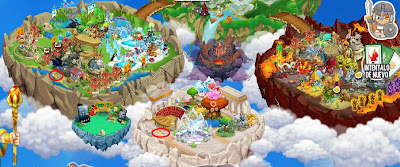 como sacar keys o llaves de la isla calabozo de dragon city