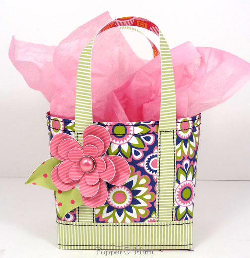 Mini Tote Gift Bag Tutorial