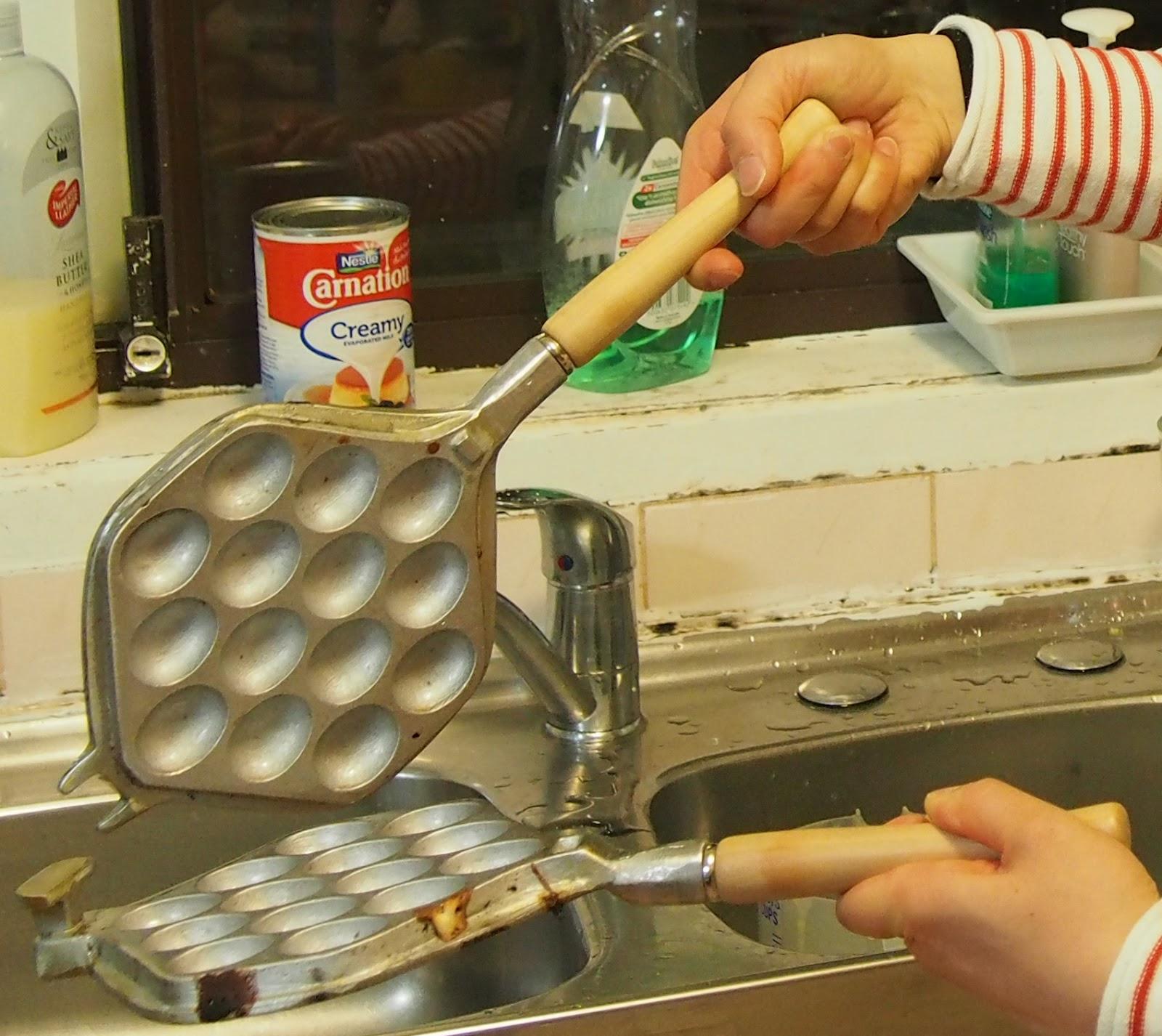 how to make hong kong egg waffle