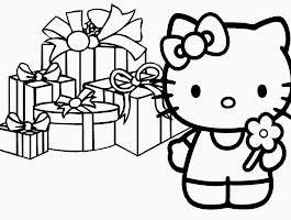 Hello Kitty Halloween Coloring Pages To Print
