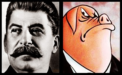 a comparison of animalism in orwells animal farm to marxism and the 1917 russian revolution Animal farm is a figurative and dystopian novelette by george orwell published in england on 17 august 1945the book peeps into and ponder the events took place during vladimir lenin's regime or russian revolution (1917-1924) and leading up to and during joseph stalin regime ie (1924-1956) created his own framework full of rigid and stern.