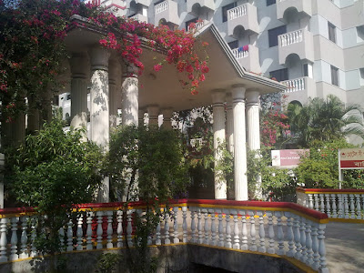 Hotel in Dhaka city.
