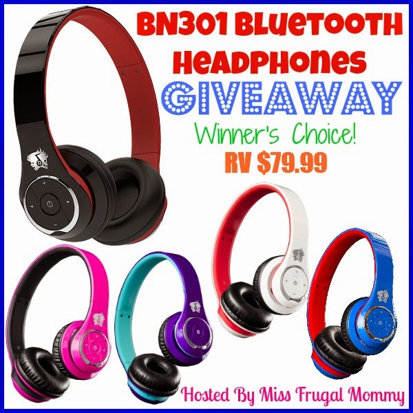 Bluetooth Headphones Giveaway