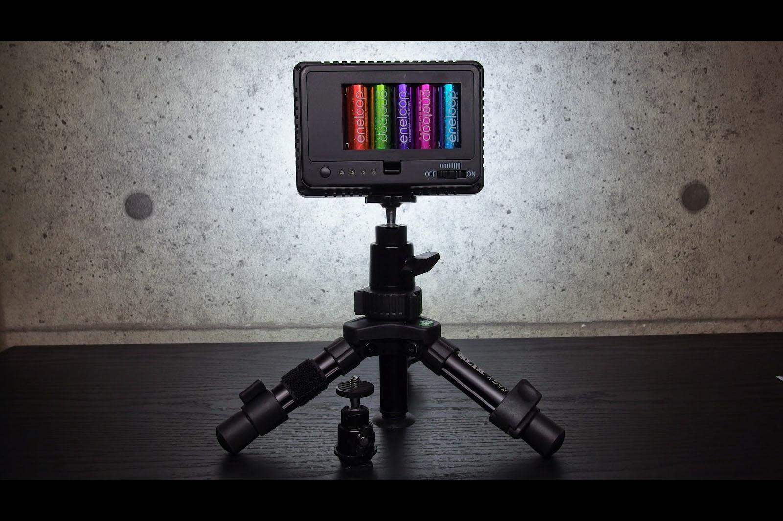 「NEEWER ハイパワー 160 LED ビデオライト」