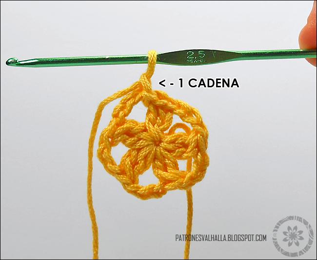 Estrella a Crochet #2 (foto-tutorial) - PATRONES VALHALLA: Patrones ...