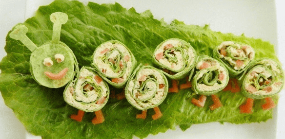 Sevimli ve Süslü yemek tabakları