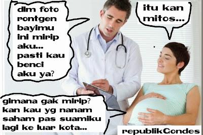 mitos tentang kehamilan yang salah