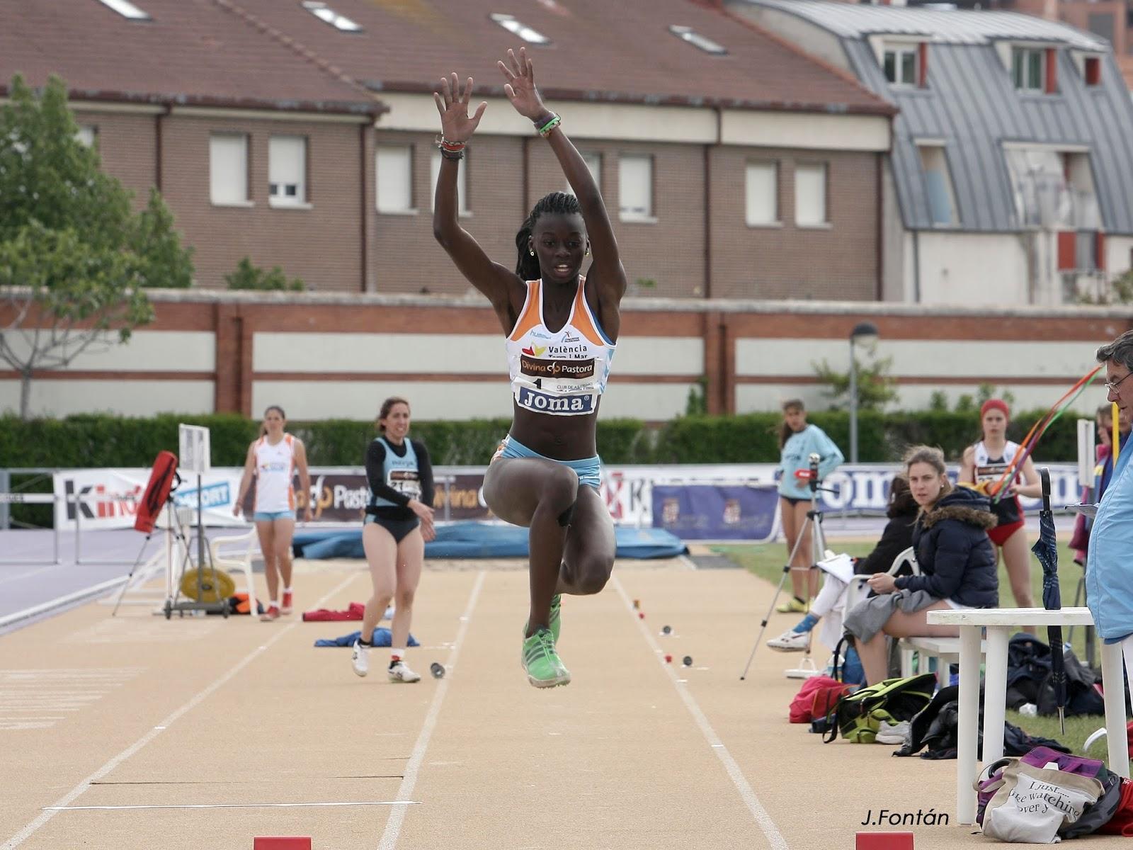 Fatima diame cuerpazo del atletismo 2