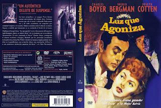 Carátula dvd:Luz que agoniza (1944) (Gaslight)