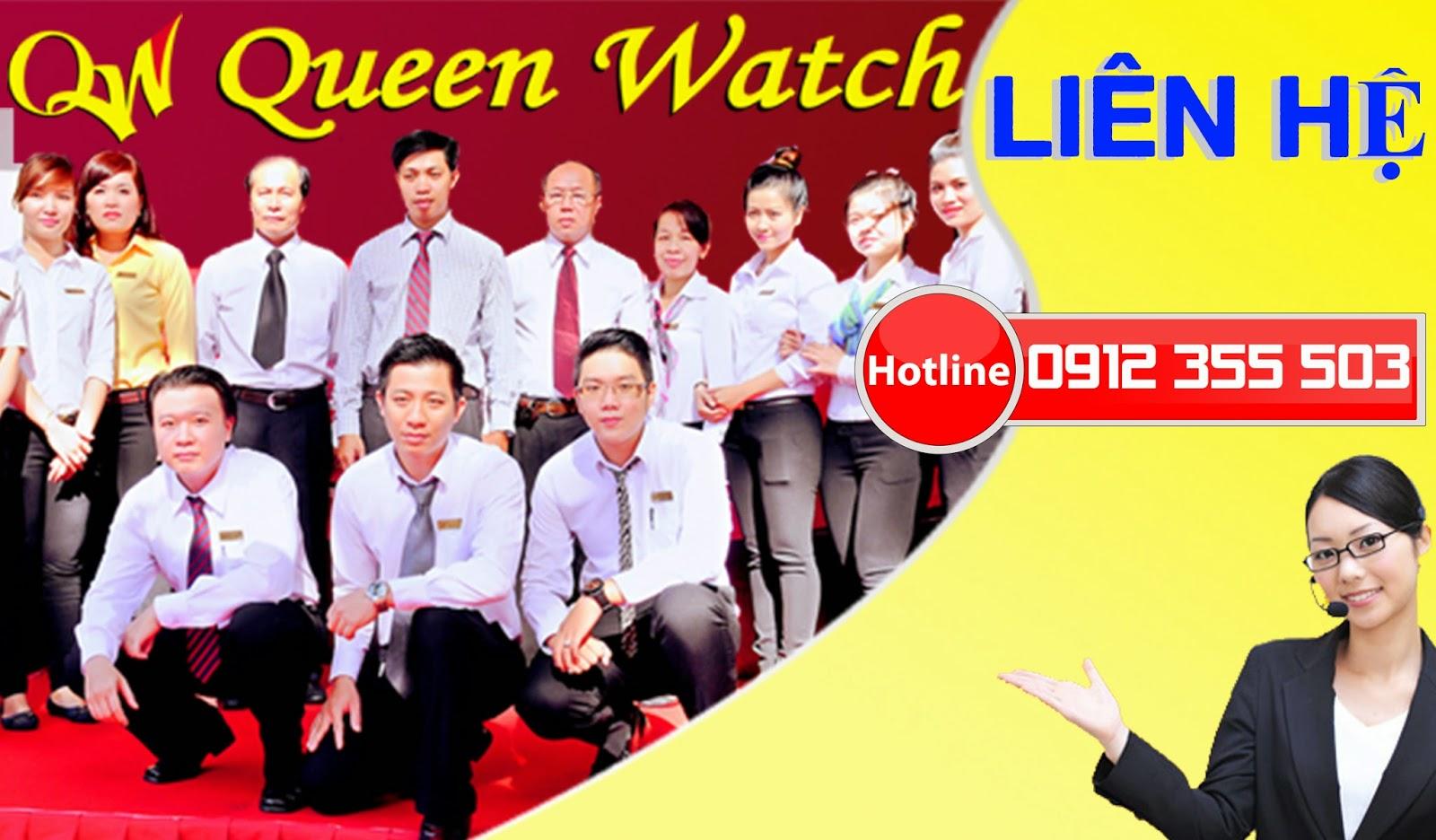 liên hệ đồng hồ cao cấp Queen Watch