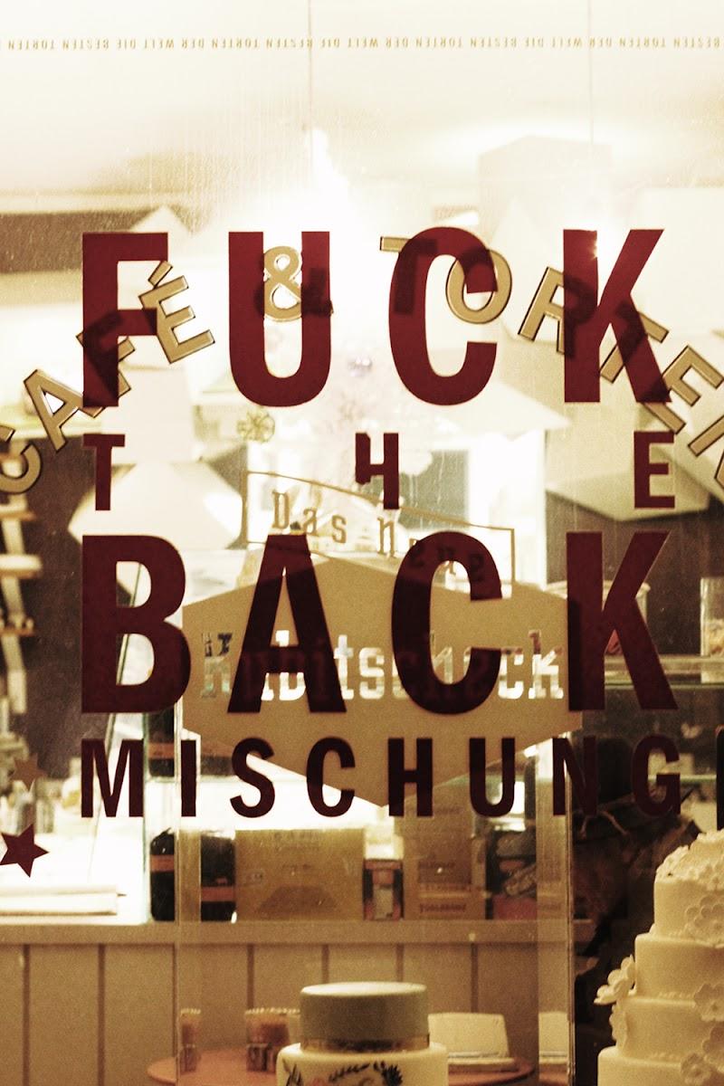 fuck the back mischung Das neue Kubitscheck