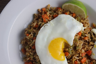 Chimichurri fried rice