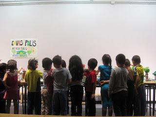 Alumn@s del C.E.I.P. Felipe II nos muestran sus creaciones en Envasópolis Intercultural