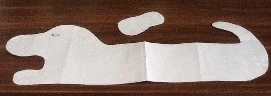 Otto paraspifferi il bassotto cartamodello e tutorial for Fermaporta cartamodello